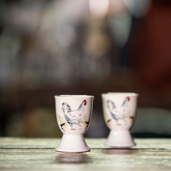 Ashdene 'Country Chickens' Collection Chicken Egg Cup