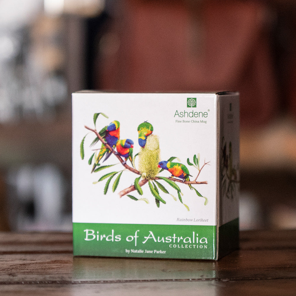 Australian Birds of Australia Collection - Rainbow Lorikeet Can Mug