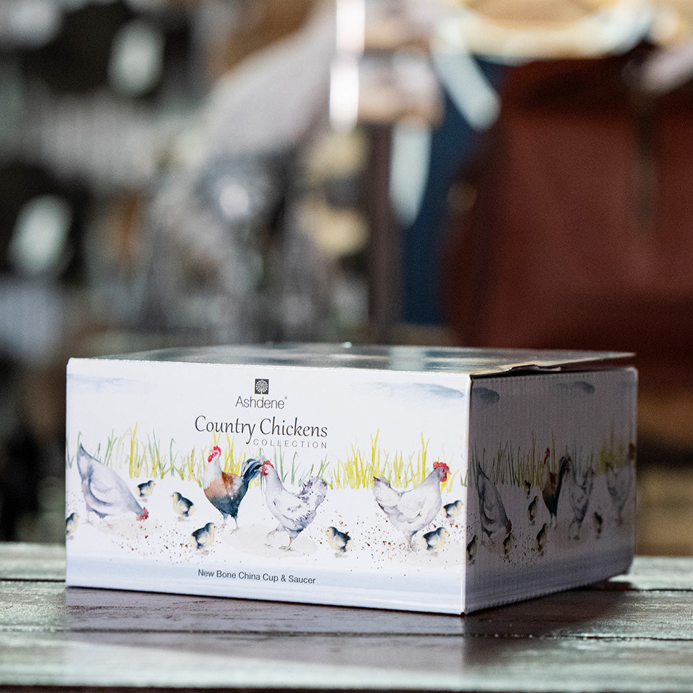 Ashdene Country Chickens Collection - gift box