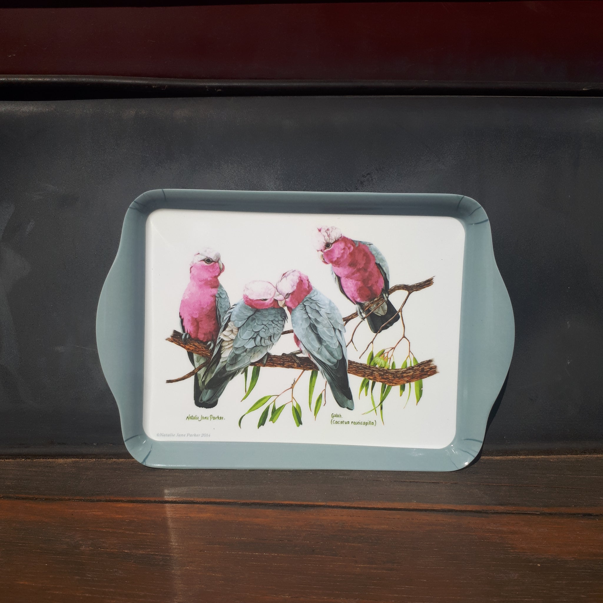 Ashdene Scatter Tray Galah and Eucalyptus