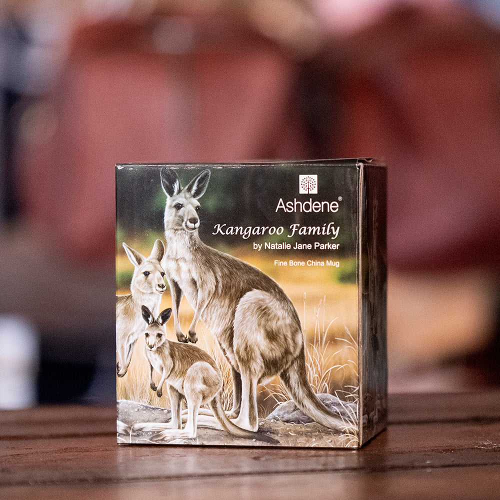 Goft Box Ashdene Australian Animals Collection - Kangaroo Family Can Mug