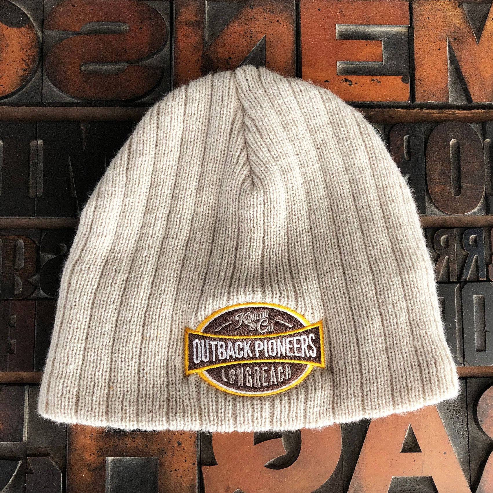 Outback Pioneers branded beanie