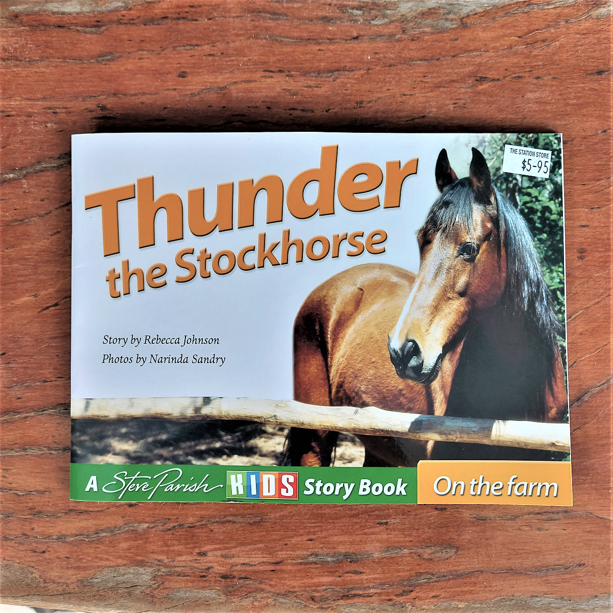 Children's Book Thunder the Stockhorse