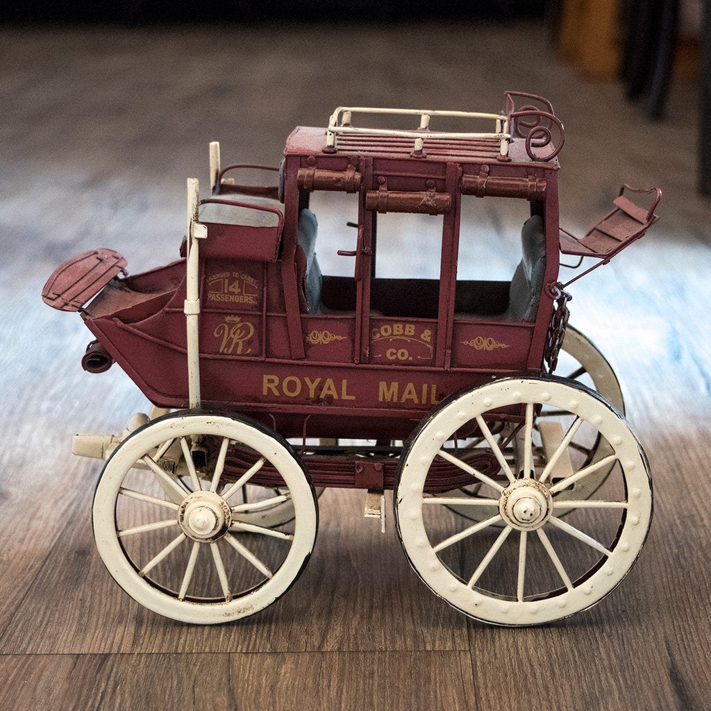 Cobb & Co. Coach Metal Replica