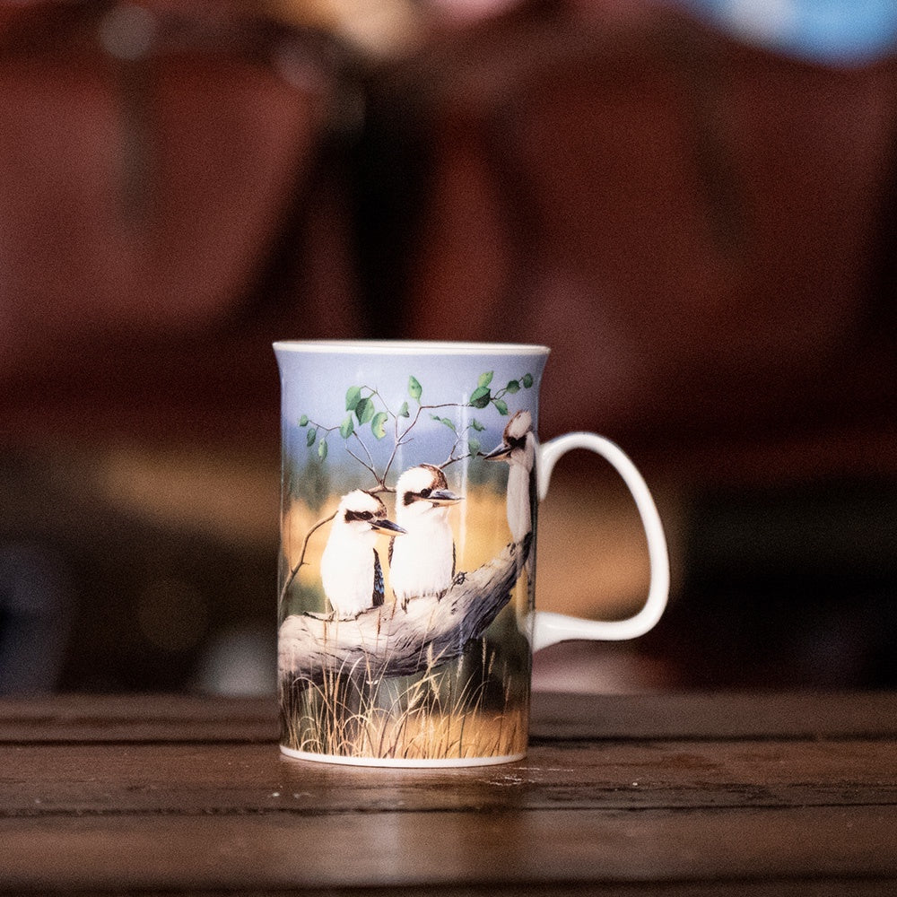 Ashdene Australian Animals Collection - Kookaburras Can Mug