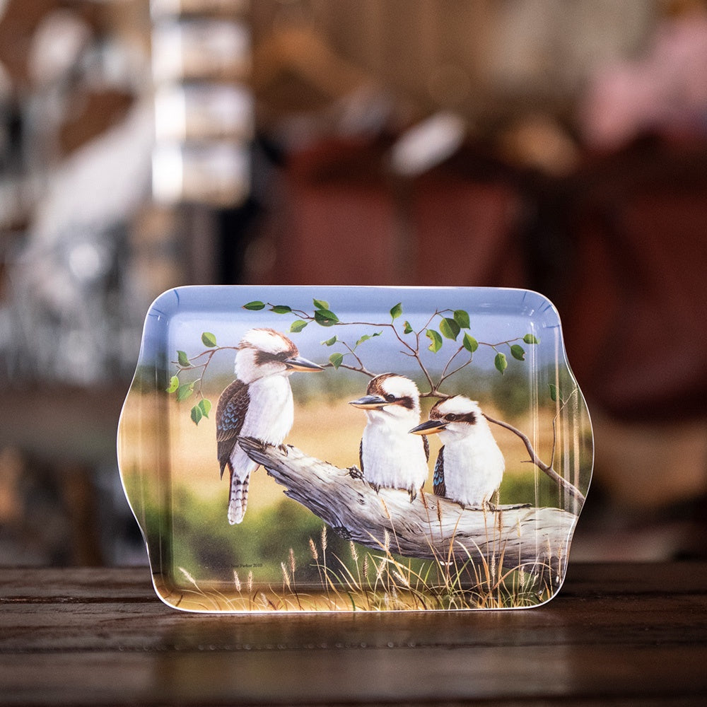 Ashdene Australian Animals Collection - Kookaburras Scatter Tray