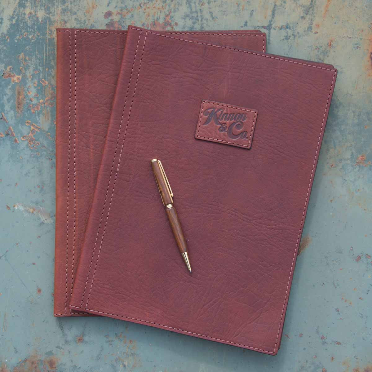 Kinnon & Co Diary Cover Leather A4 Tan