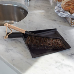 Dustpan & brush set (Black)