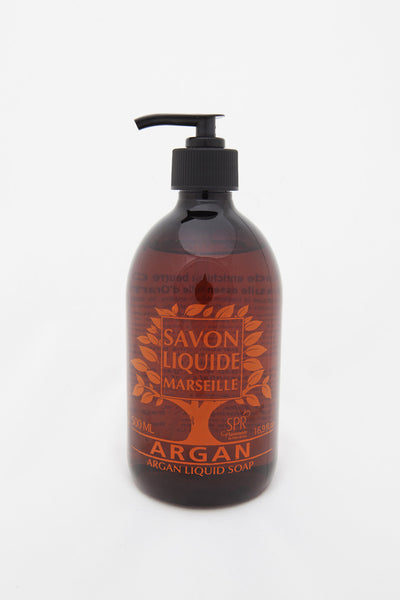 Marseille Liquid soap with Orange Essential oil – with Argan oil base (500 ml)