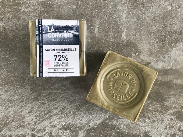 Marseille Cube - 72% Olive Oil - 200 gm