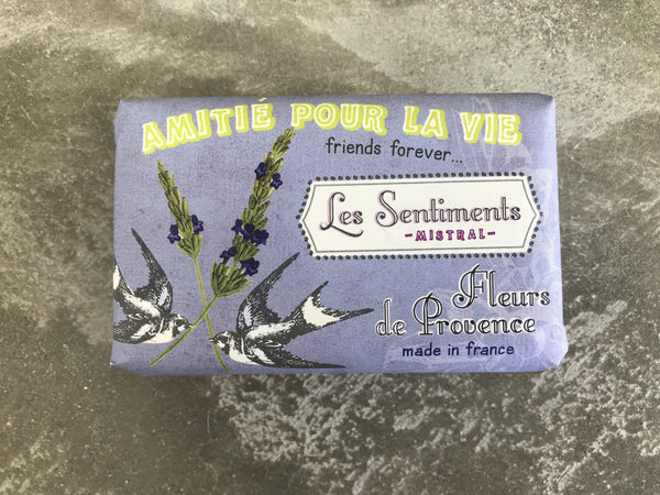 Les Sentiments Provence Flowers Soap – friends forever