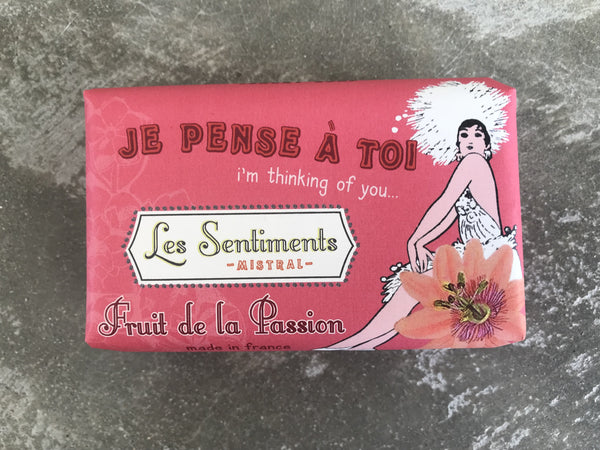Sentiments Passion Fruit Soap – thinking of you