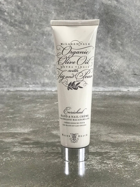 Organic Olive Oil Hand and Nail Cream (100 ml)