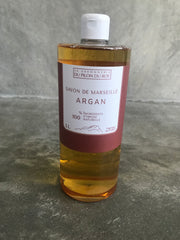 Marseille Liquid soap with Orange Essential oil – with Argan oil base
