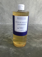 Marseille Liquid soap with Lavender Essential oil – with Olive Oil base
