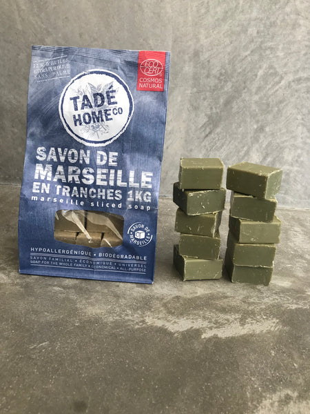 Marseille Soap - 72% Olive Oil - 10 x 100 gm