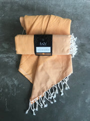 Cotton Hammam Towel (Orange)