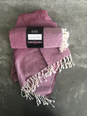 Cotton Hammam Towel (Rose)