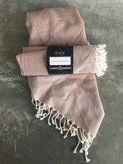 Cotton Hammam Towel (Argan Brown)