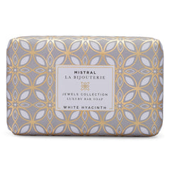 WHITE HYACINTH JEWELS BAR SOAP