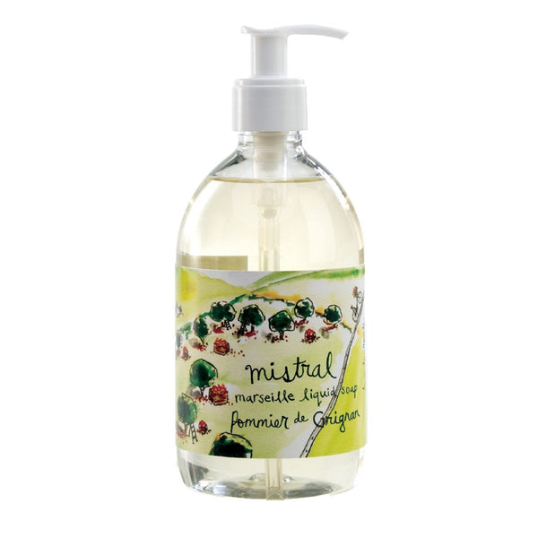 Marseille Liquid soap POMMIER DE GRIGNAN SUR LA ROUTE (500 ml)