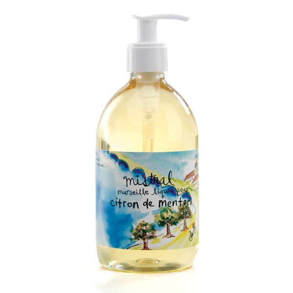 Marseille Liquid soap CITRON DE MENTON SUR LA ROUTE (500 ml)