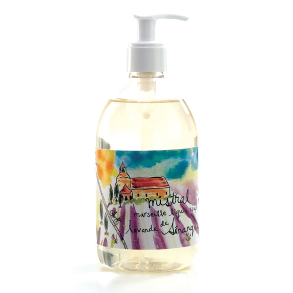 Marseille Liquid soap SENANQUE LAVENDER SUR LA ROUTE (500 ml)