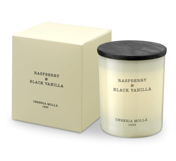 Raspberry & Black Vanilla - 230 gm Candle