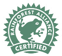 Supplier of Rain Forest Alliance Certified Products