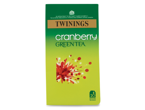 Twinings Cranberry Green Tea (1x20)