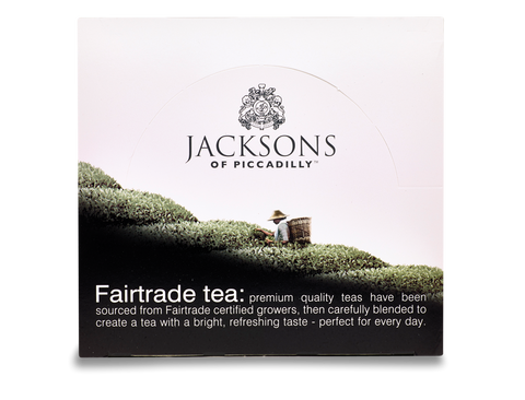 Jacksons Fairtrade Envelope String and Tag Tea Bags (6 x 50 x 2g)