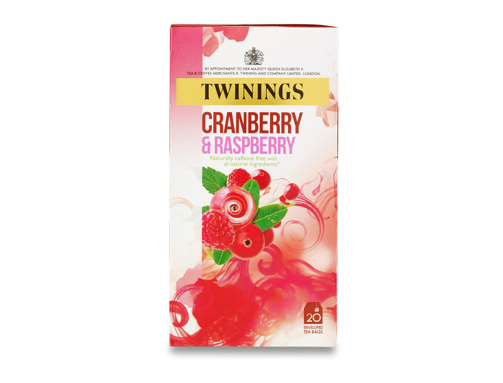 Twinings Cranberry and Raspberry Envelope Herbal (1x20)
