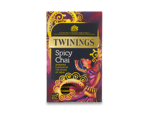 Twinings Spiced Chai Envelope Tea Bags (4x20x2g)