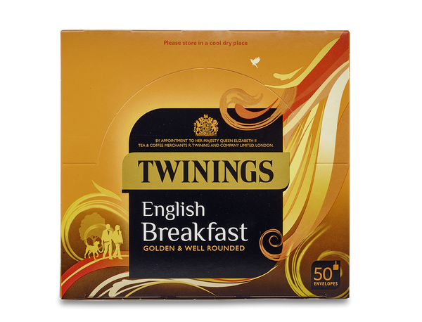 Twinings English Breakfast Envelope Tea Bags (6x50x2.5g)