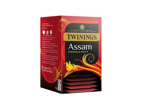 Twinings Assam Envelope Tea Bags (4x20x2g)