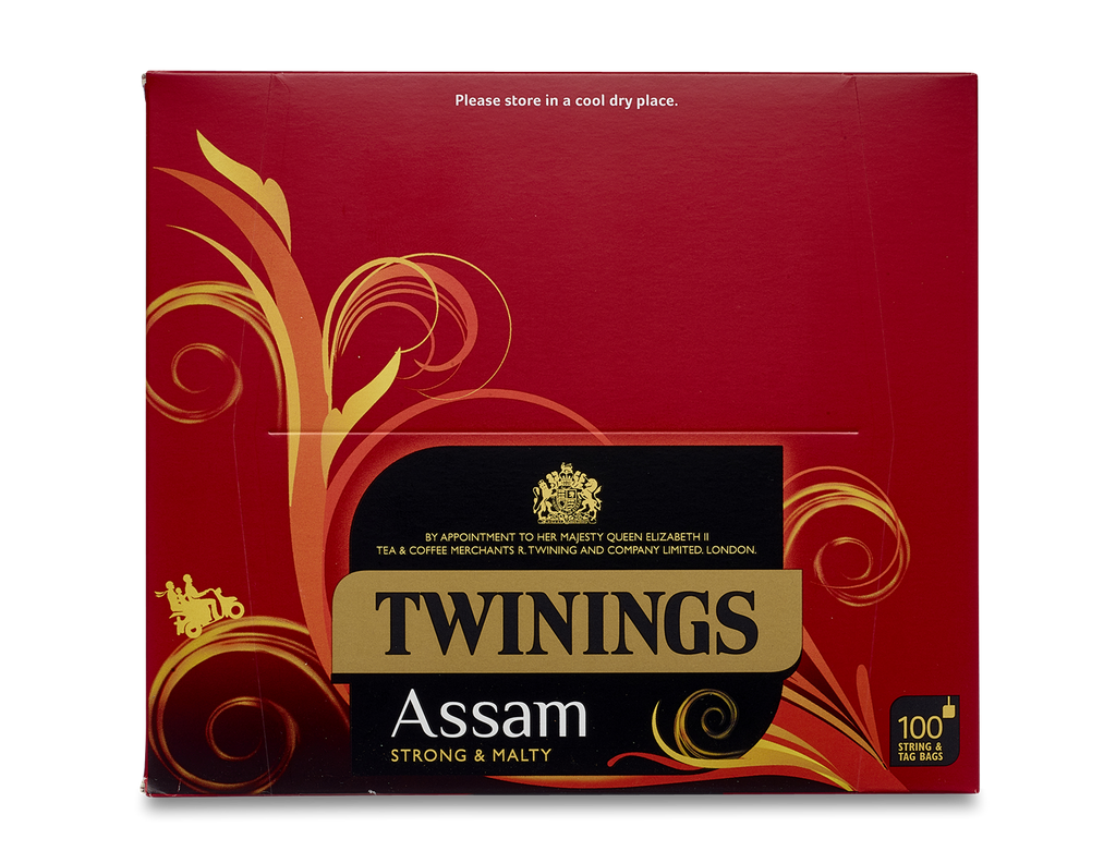Twinings Assam String and Tag Tea Bags (100x2g)