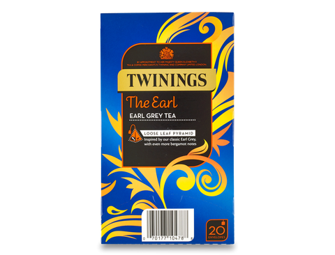Twinings Whole Leaf Silky Pyramid Envelope The Earl Earl Grey Tea (4x20x2.5g)