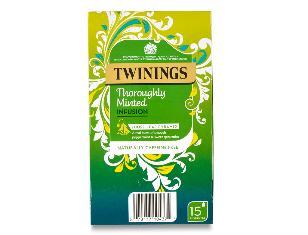 Twinings Thoroughly Minted Pyramid Bag (1x4x15 )