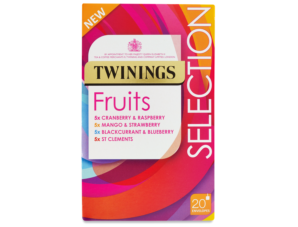 Twinings Fruit Selection Envelope Herbal Infusions (5x5)