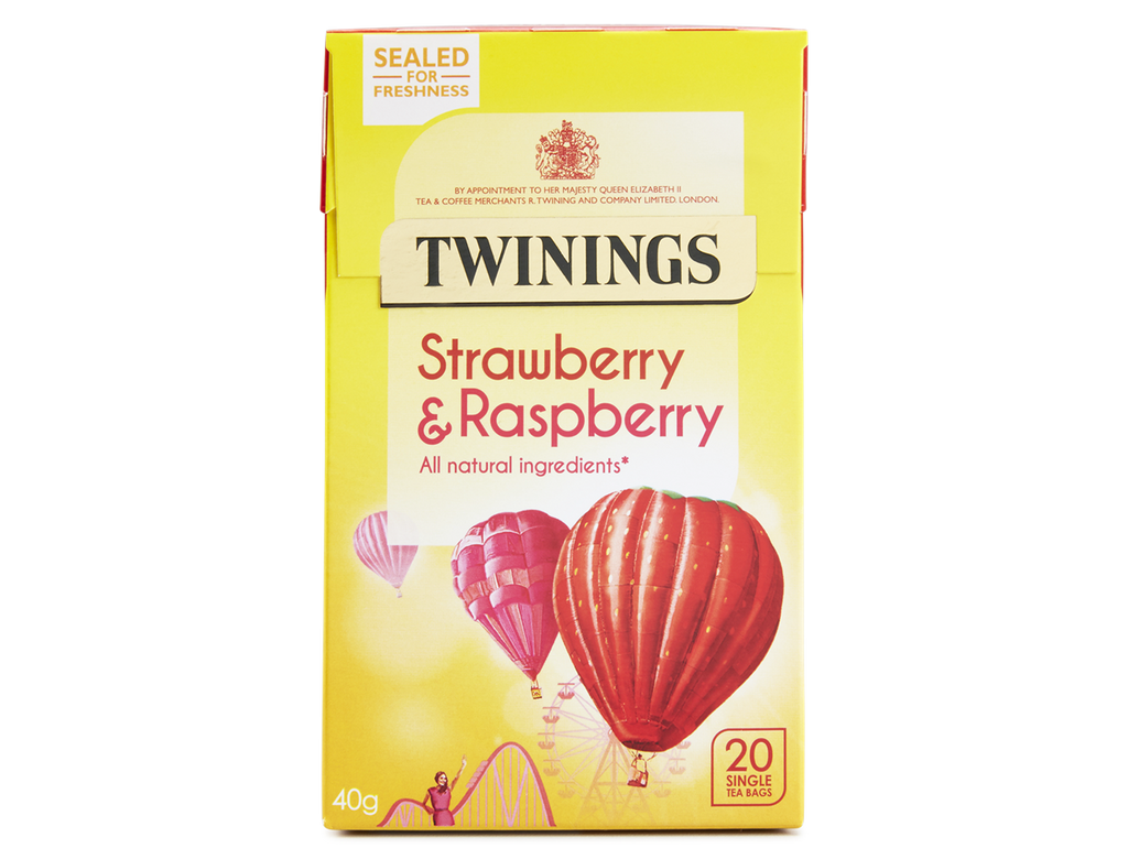Twinings Strawberry and Raspberry Herbal Infusion (1x20)