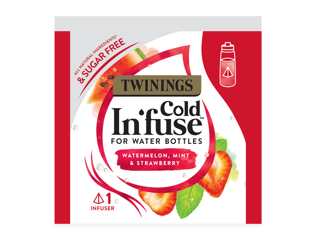 Twinings COLD INFUSE - WATERMELON, STRAWBERRY & MINT (100x2.5g)