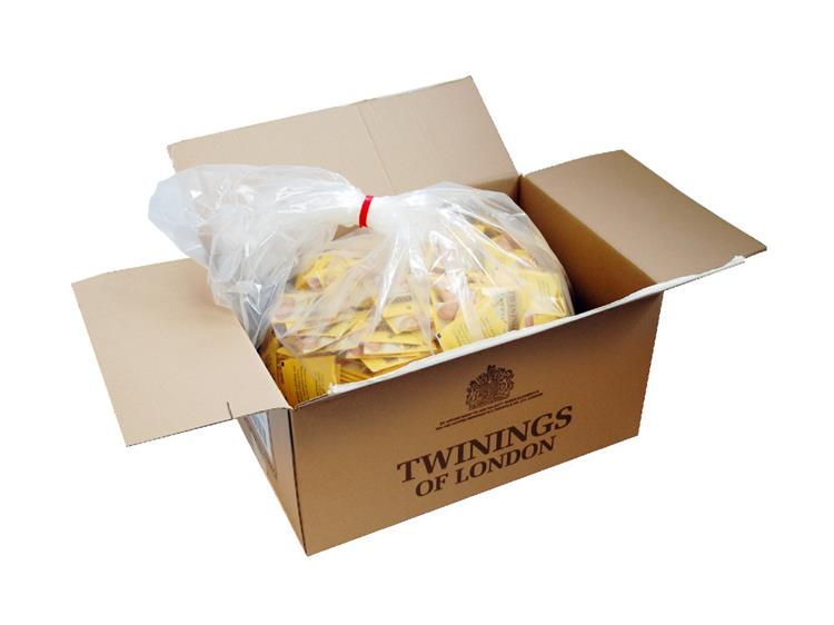 Twinings Everyday Envelope Wrapped String and Tag Tea Bags Polythene Bags 1000 x 2g