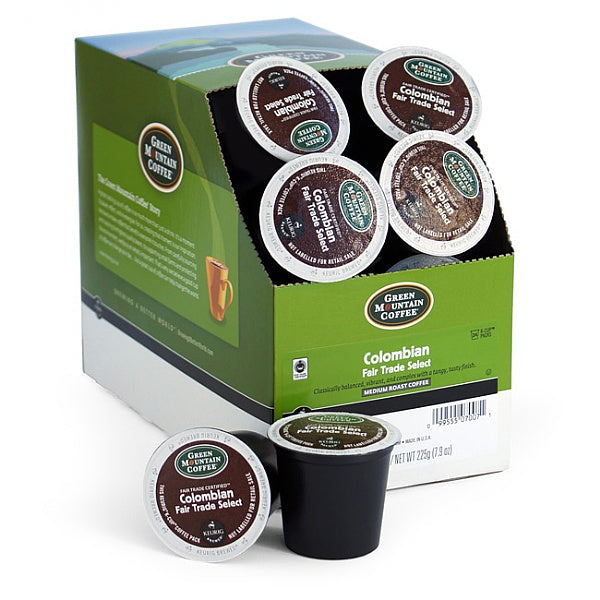 AquaCafe Colombian Coffee Capsules (4x24)