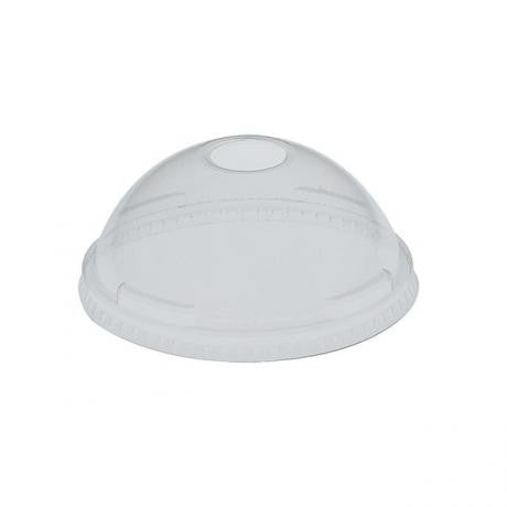 Solo 9oz Clear Plastic Dome Lids (1000) dl685
