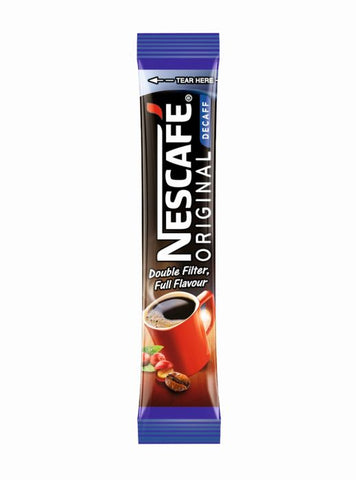 Nescafe Decaffeinated Instant Coffee Sticks (1x200)