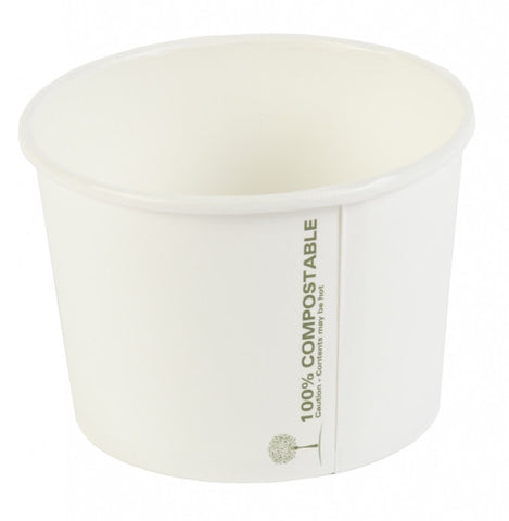 Heavy Duty 16oz Soup Container Biodegradable (500)