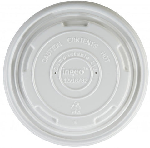 Heavy Duty 16oz Soup Container Biodegradable lids (500)