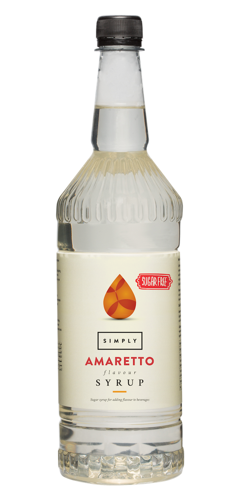 Simply Amaretto Sugar Free Flavoured Syrup (1litre)