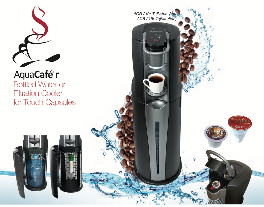 AquaCafe Hot Drinks Capsule Machine and Chilled Water