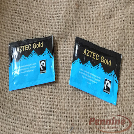Aztec Gold Fairtrade Decaffeinated Instant Coffee Sachets (250)